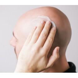 Crème hydratante pour crâne rasé