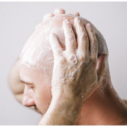 Shampoing pour crâne chauve, rasé, tondu